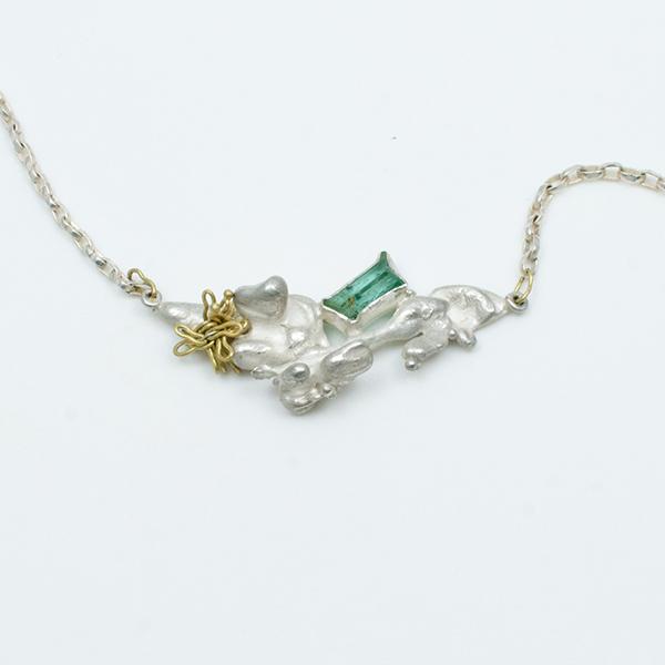drift emerald necklace