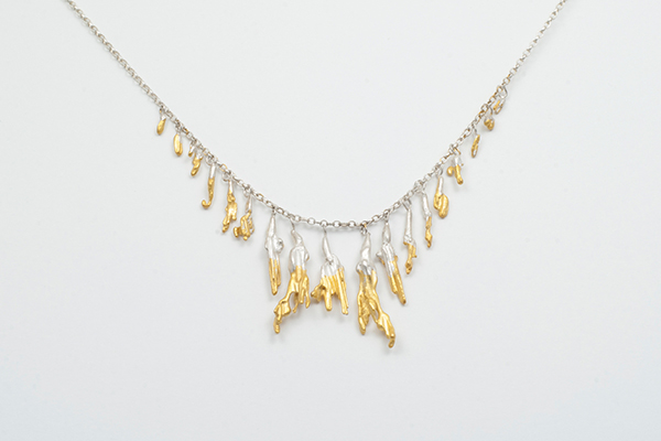 gold dipped necklace
