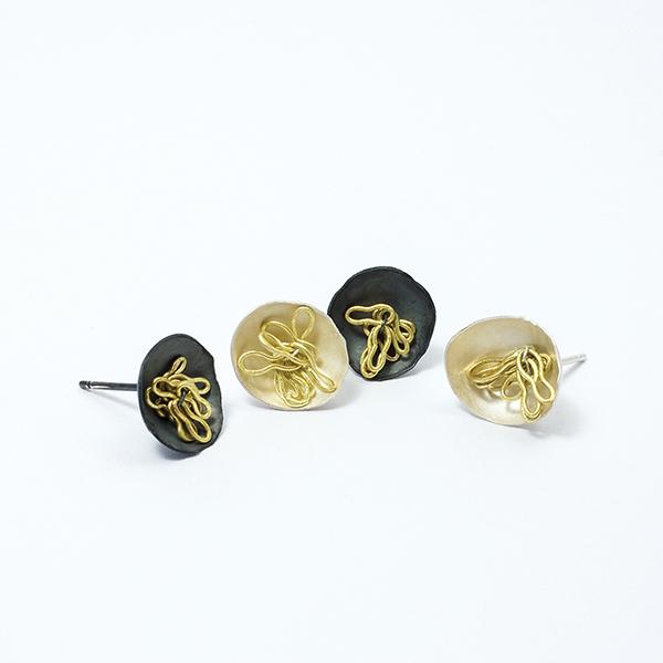 noodle earrings